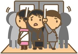 誰でもできる、満員電車のストレスを回避する方法とは?